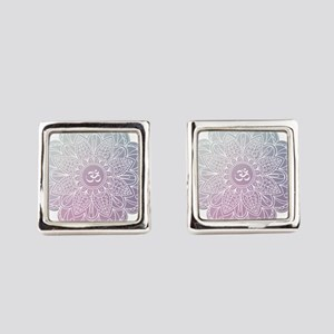 yoga Square Cufflinks