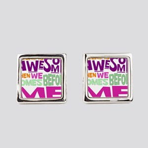 Funny office Square Cufflinks
