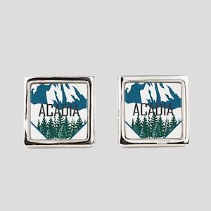 Acadia - Maine Square Cufflinks