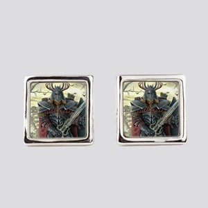 viking warrior Square Cufflinks