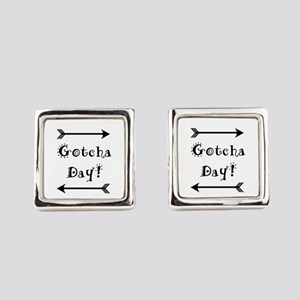 Gocha Day - Adoption Square Cufflinks