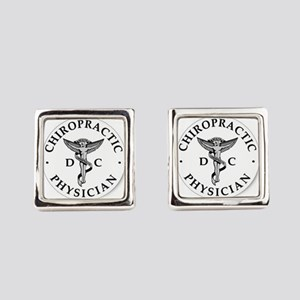 Chiropractic Physician Square Cufflinks