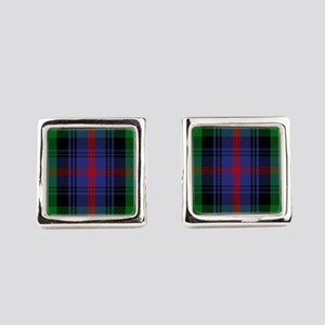 Sutherland Scottish Tartan Square Cufflinks