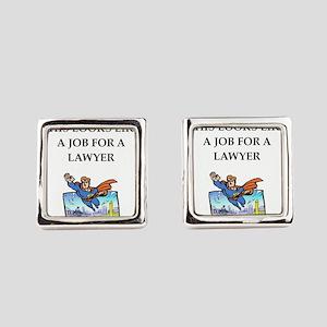 lawyer Square Cufflinks