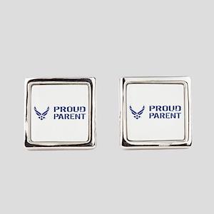 USAF: Proud Parent Square Cufflinks