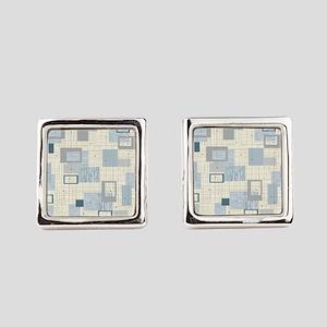 Makanahele Mid Century Modern Square Cufflinks