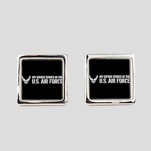 U.S. Air Force: Father Square Cufflinks