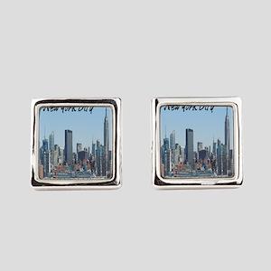 New York City Square Cufflinks