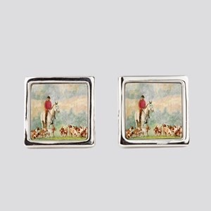 Foxhunt Square Cufflinks