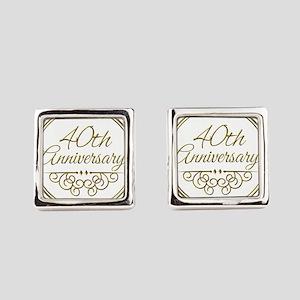 40th Anniversary Cufflinks