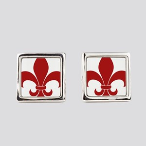 Fleur de lis French Pattern Parisian Design Square