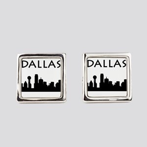 Dallas Square Cufflinks