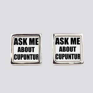 Ask me about Acupuncture Square Cufflinks