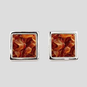 bacon standard Square Cufflinks