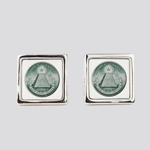 New Weed Order Square Cufflinks