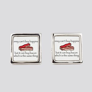 Bacon Money Cufflinks