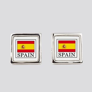 Spain Square Cufflinks