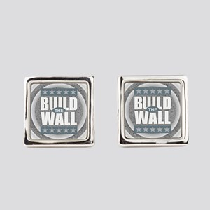 Build the Wall Square Cufflinks