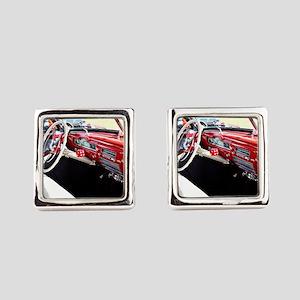 Classic car dashboard Square Cufflinks