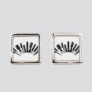 Combs122410 Square Cufflinks