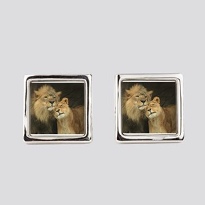 LOVE AT FIRST Square Cufflinks