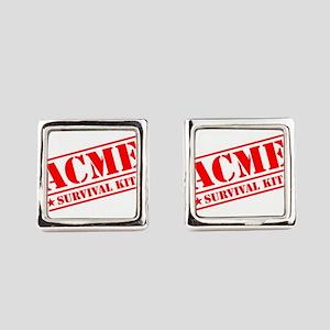 ACME Survival Kit Square Cufflinks