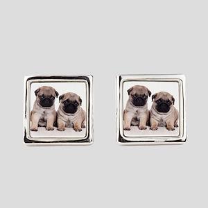 Pug Square Cufflinks