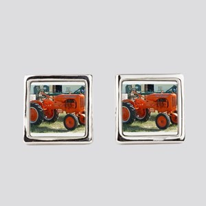 Allis Chalmers Tractor Square Cufflinks