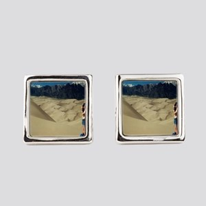 Take only pictures leave only footprints Cufflinks