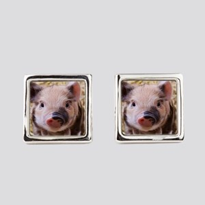 sweet little piglet 2 Cufflinks