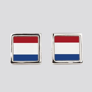 Flag of the Netherlands Square Cufflinks