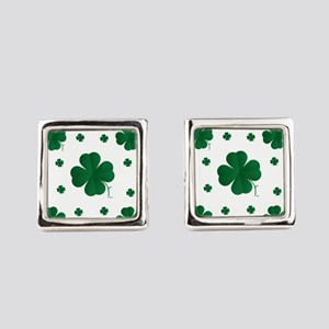 Shamrocks Multi Square Cufflinks
