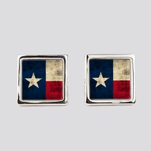 Texas Flag Square Cufflinks