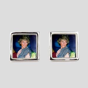 HRH Princess Diana Iconic! Square Cufflinks