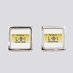 LBI NJ Tag Giftware Square Cufflinks