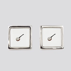 Banjo Square Cufflinks