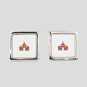Castle Square Cufflinks
