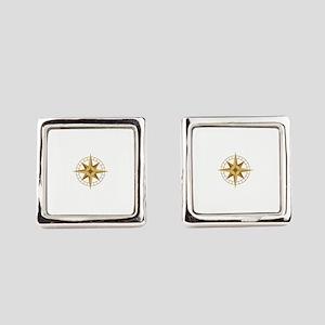 Compass Square Cufflinks