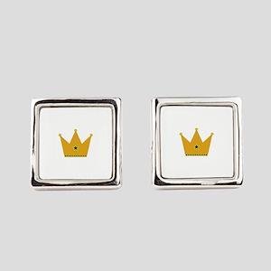 King Crown Square Cufflinks