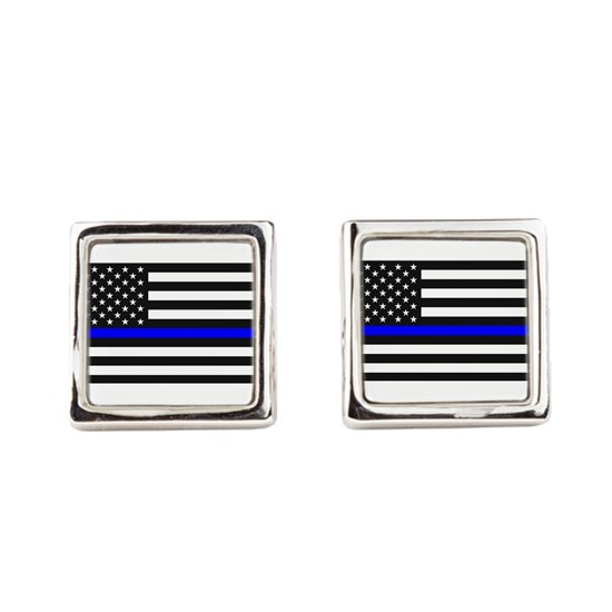 Thin Blue Line - USA United States American Flag