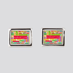 Branding and Marketing Rectangular Cufflinks