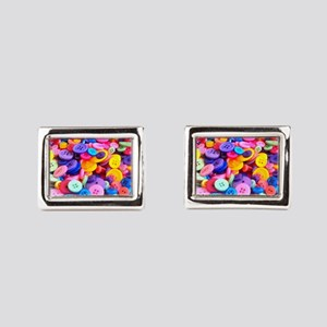 Buttons In Color Cufflinks