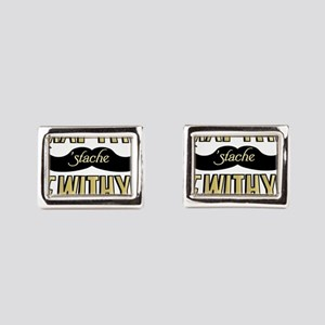 May the stache be with you Cufflinks