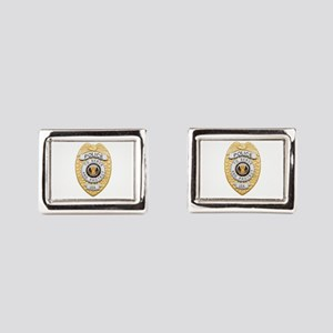 badge1 Rectangular Cufflinks