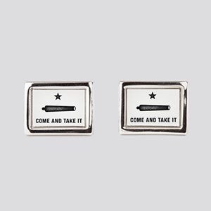 Gonzales Flag Rectangular Cufflinks