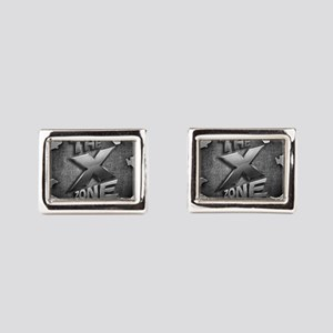 The X Zone Logo Steel Box_8x8 Rectangular Cuff