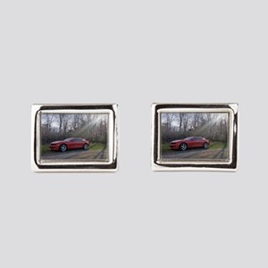 Camaro_ss - Rectangular Cufflinks