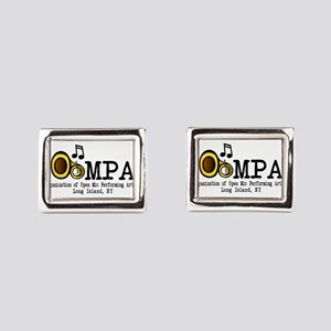 tuba12 Rectangular Cufflinks