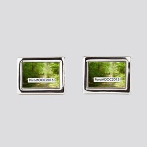 ParaMOOC2015 Rectangular Cufflinks
