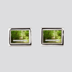 ParapsychologyOnline Website Rectangular Cufflinks
